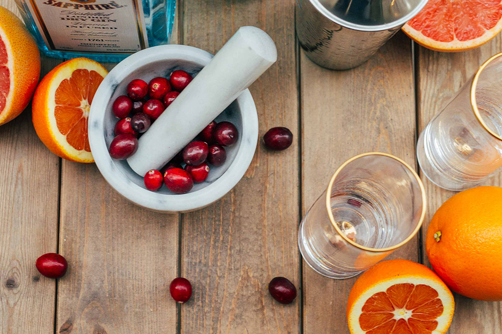 Cranberry Citrus Martini Recipe — Dishmaps
