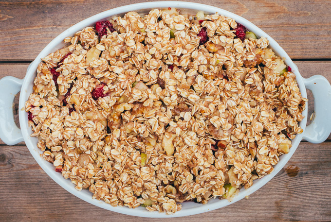 Fruity & Sweet Breakfast Bake, Gluten-Free & Vegan