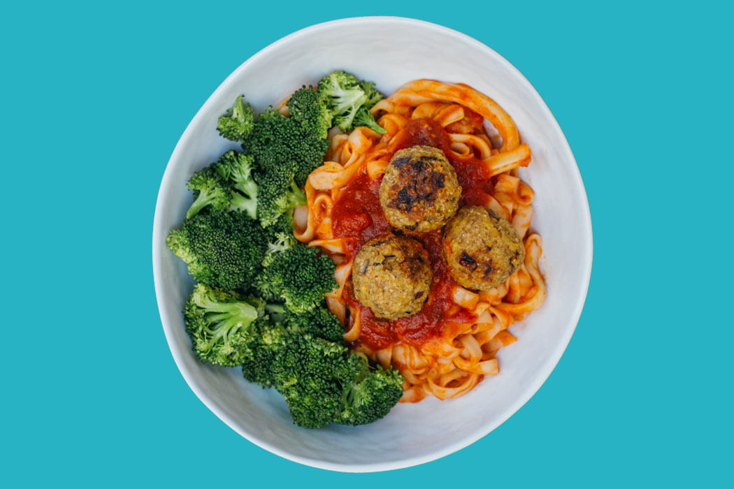 Vegan Meal Prep Ideas, Tempeh Meatballs, Plant- based protein